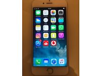 Vodafone I-phone 6 Silver 16GB (in great condition)