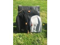 Orlo pacapod changing bag with both pods