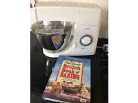 Kenwood mixer with book