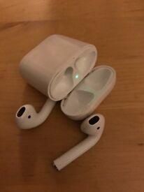 Apple AirPods great condition £120 looking for quick sale hence price