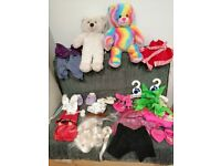 Bears, outfits, shoes from Build-A-Bear