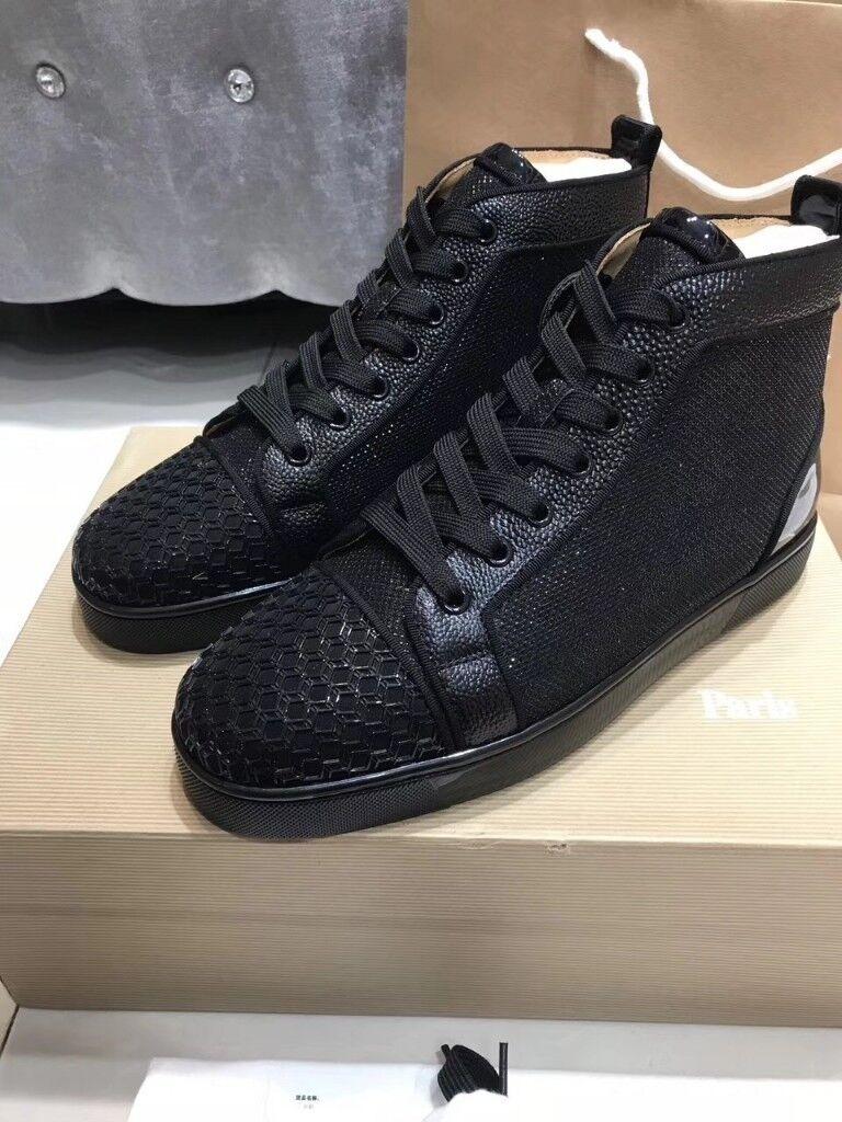 Christian Louboutin High Top Sneakers Black In Ealing Broadway London Gumtree