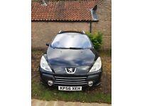 Peugeot 307 SW SE HDI 1.6L Diesel Estate 6 Seater Black