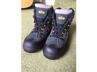 Site, Steel Toe Capped Boots - Size 10