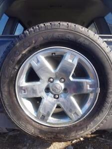 17 inch Jeep Liberty Brand New Tire With Chrome Alloy