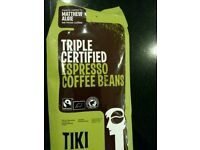 Wanted Coffee beans Tiki