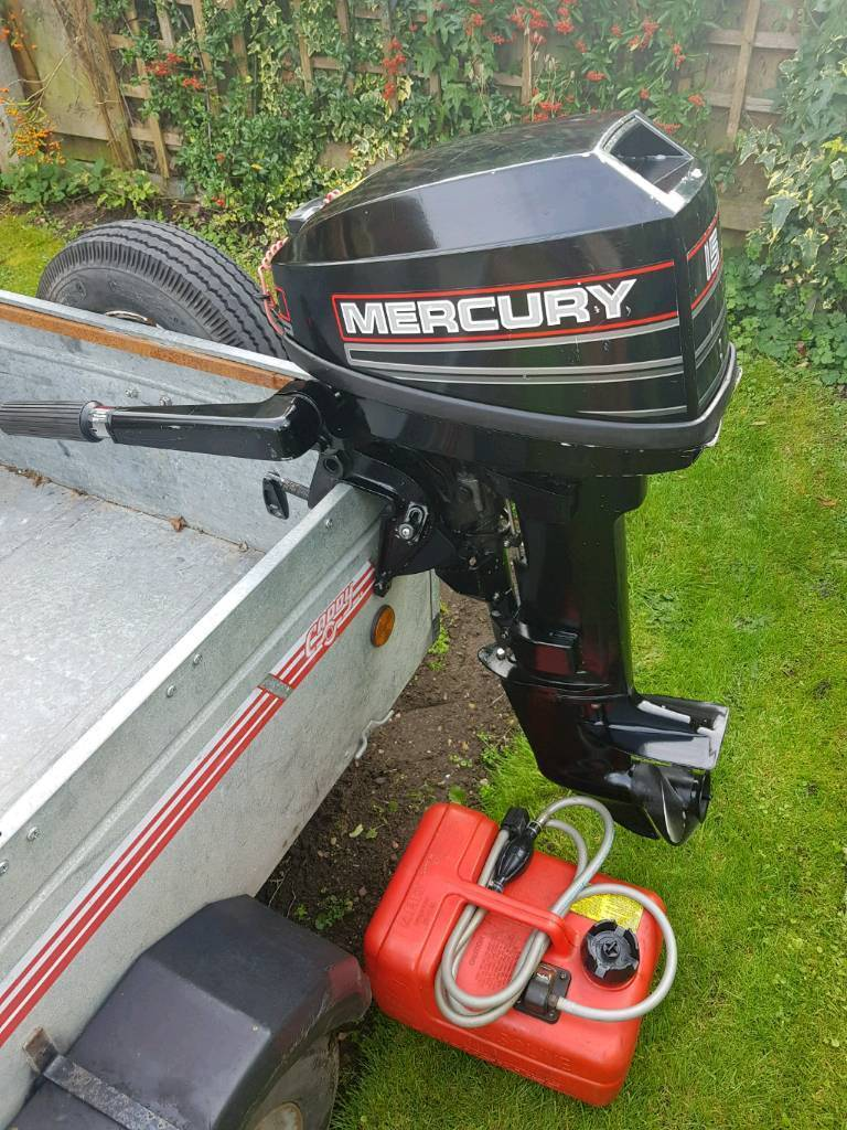 Mercury 15hp Shortshaft