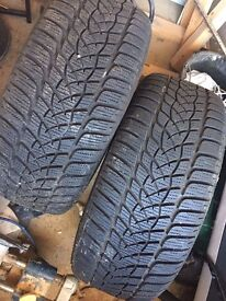 Winter tyres - Goodyear 225/40/R18.