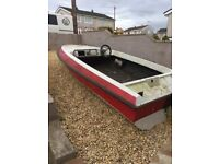 Speed boat shell