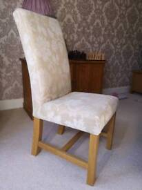 Beautiful upholstered chair x4