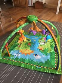 Fisher price rainforest gym / play mat