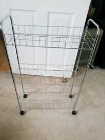 3 tier kitchen trolley RRP£ 18 onion potato