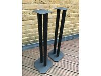 "Speaker Stands - 31"" Tall - Pair - Black"