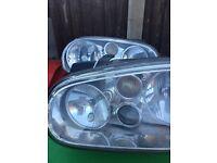 Vw Golf head lights