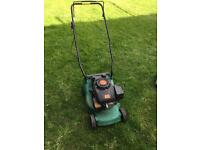 Performance lawnmower