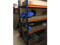 Heavy duty storage shelves - Quick Sale required