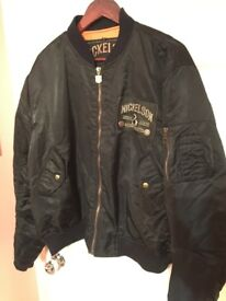 Amazing Bomber jacket Nickelsson only £28!!!!! size L but wear XL