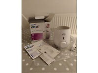 Philips Avent Fast Bottle Warmer - used - like new