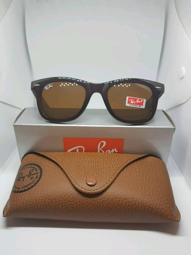 c780a4cc885 Ray-ban wayfarer sunglasses brown