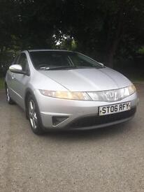 2006 06 Reg Honda Civic 1.8i-Vtec se ***REBERSE PARKING SENSORS***12 MONTHS MOT***