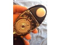 Sekonic analog light meter