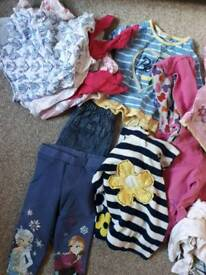 Bundle of girls 9 - 12 months clothes