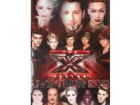 X factor live tour exclusive booklet signed by all finalists including one direction and the winner!