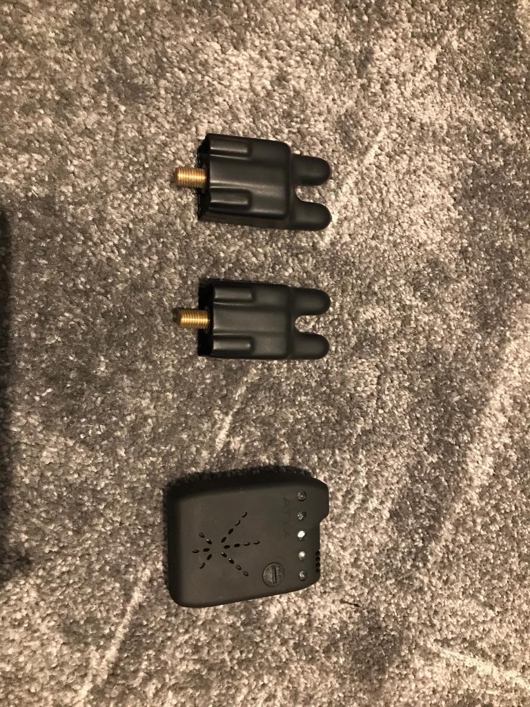 2x ATTs IW bite alarms + receiver   in Downham Market ...
