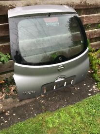Nissan micra Tailgate