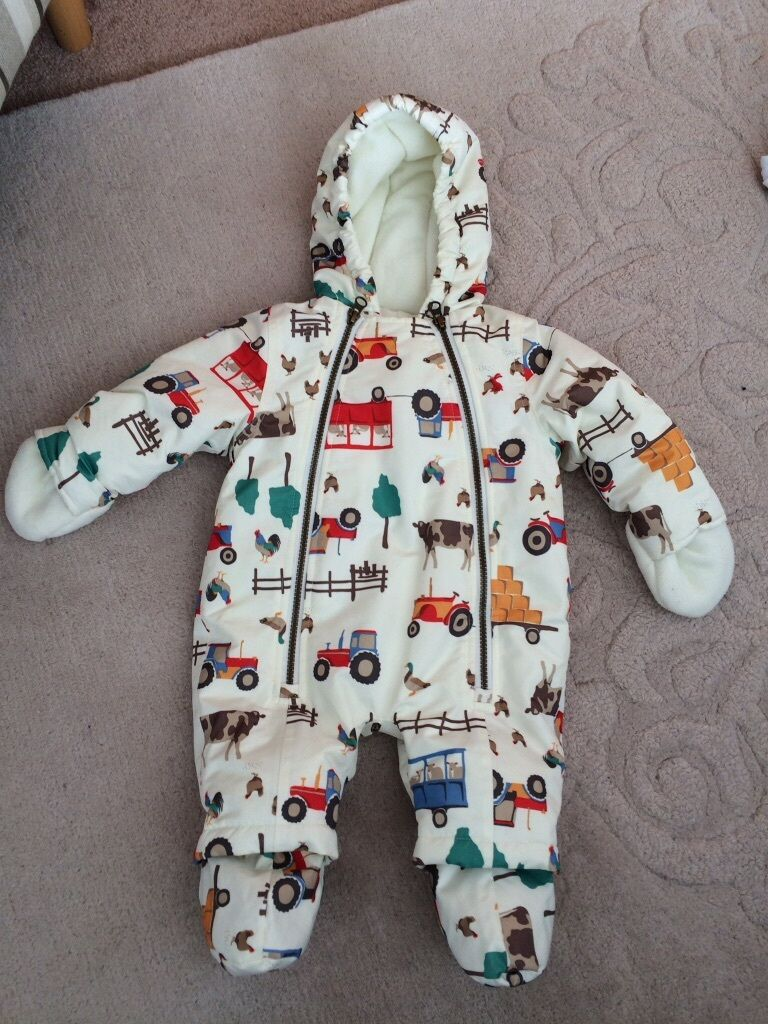 Joules Snowsuit immaculate condition 0 3 months
