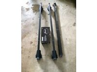 Thule Roof Rack 761 & 757 Excellent Condition Light Usage Boxed with keys