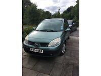 2004 Renault Scenic Automatic great runner - owned for 10 yrs