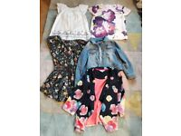 Girls clothes bundle aged 7-9 years