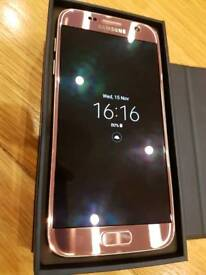 Samsung s7 unlocked to any network excellent condition