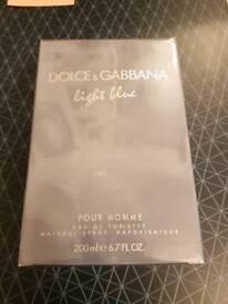 New Dolce & Gabbana Light Blue Pour Homme Eau de Toilette (200ml)