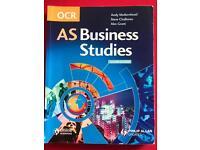 OCR - AS Business Studies textbook