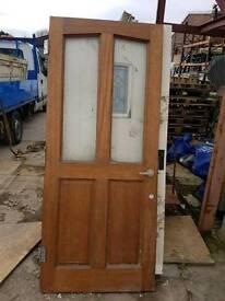 Wood internal door (#495)