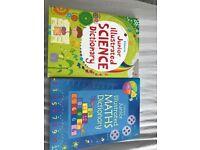 Science/Maths junior Illustrated dictionaries