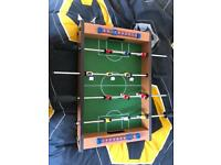 Great table football game hardly used bought for Christmas open to offers