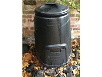 Compost bin, black, unused 90cm x 75cm