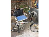 NICE FOLDING BIKE WITH BAG. OFFERS EXCEPTED