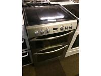 BELLING 60CM DOUBLE OVEN FAN ASSISTED ELECTRIC COOKER603