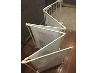 Baby playpen and room separator and baby safety