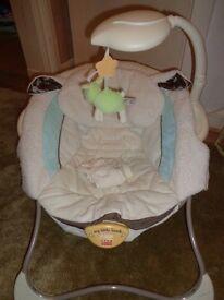 My Little Lamb baby bauncer seat