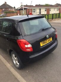 Skodia fabia 1.6 TDI, 8 months MOT, £20 a year road tax, 3 keys, 2 previous owners