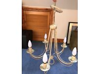 5 lamp central light fitting