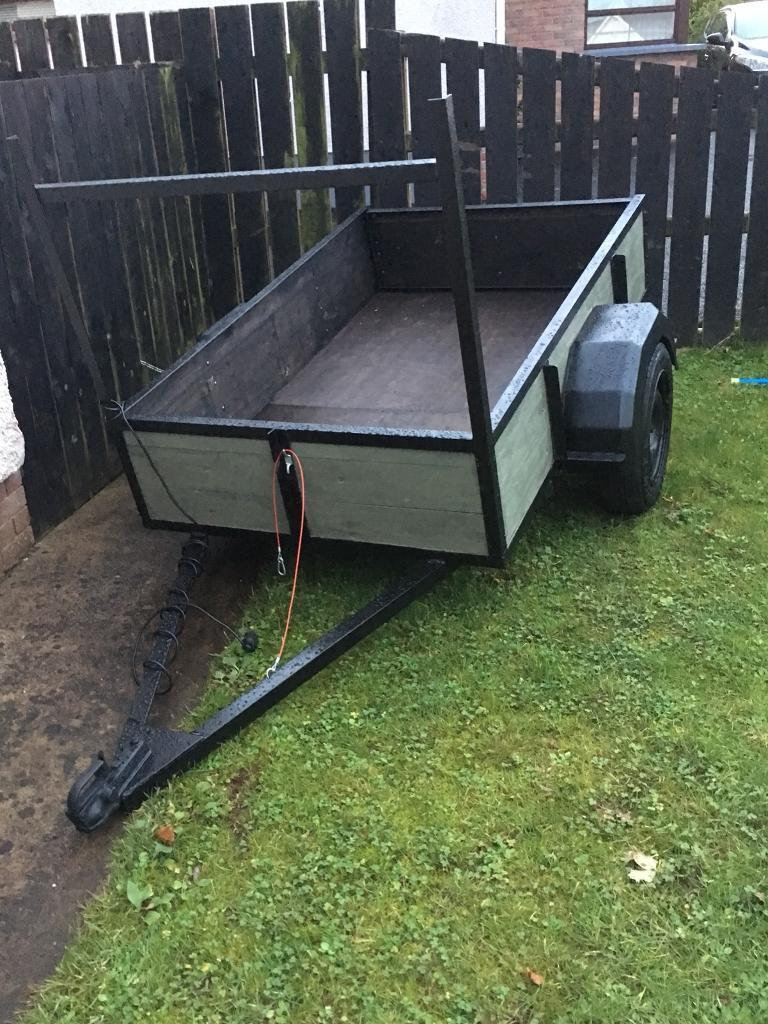 Trailer 6x4 with new axle