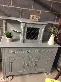 Stunning vintage dresser....hand painted❤