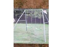 NEW TP Toys Double Metal Swing with 2 Swing Seats