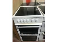50CM WHITE BEKO ELECTRIC COOKER